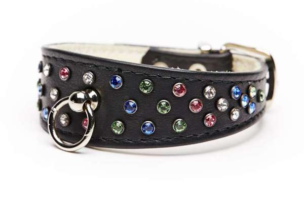 Hundehalsband 5th Avenue Black-Multicolor