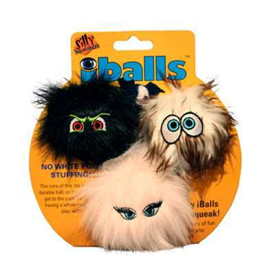 Hundespielzeug Silly I-balls