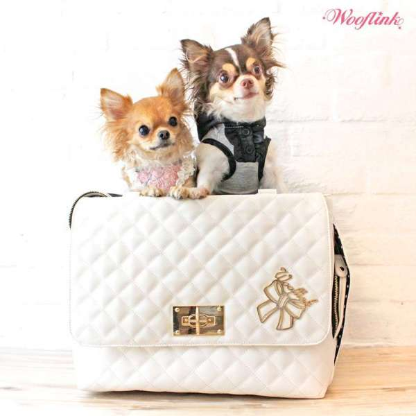 Hundetasche Nizza - Creme