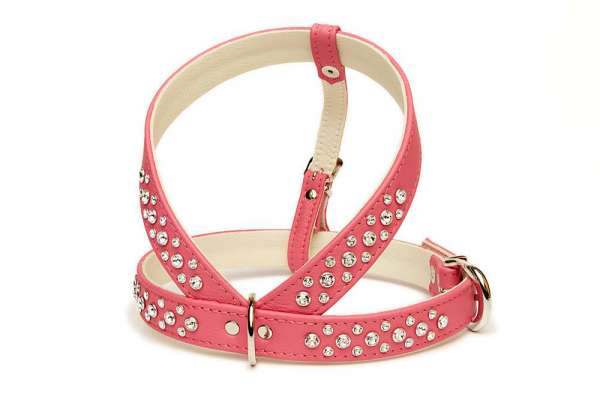 Hundegeschirr Shiny Grand - Pink