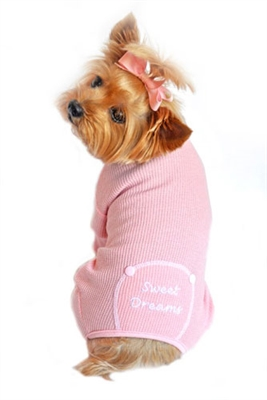 Hunde_Pyjama_Sweet_Dreams_Rosa