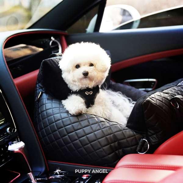 Hunde-Autositz Angione 3 Way Car Seat - Black