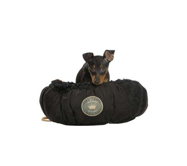 Hunde-Kuschelbett Petit Royal - Black