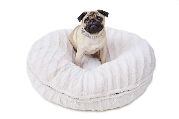 Hundebett Bagel Bed - Natural Beauty