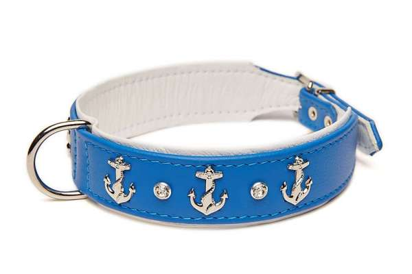 Hundehalsband Beach Dog - Royal Blau