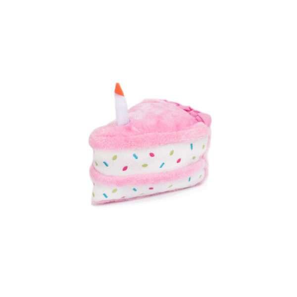 Hundespielzeug Birthday Cake - Rosa