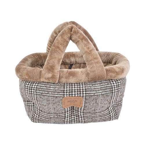 Hundetasche Basket Bed Da Vinci - Brown
