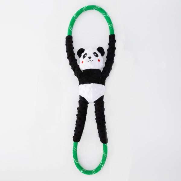 Hundespielzeug Rope Tugz - Panda
