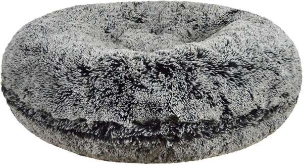 Hundebett Bagel Bed - Midnight Frost - Grey