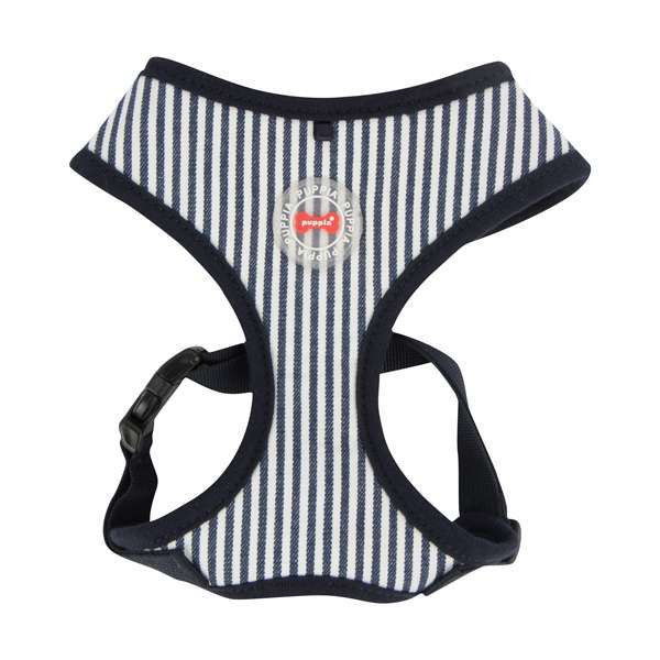 Puppia Softgeschirr Bobby - Stripped Navy