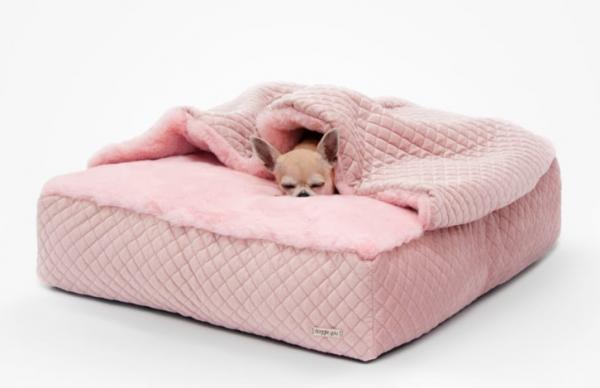 Hundekissen Sweet Dreams 2 in 1 - Rosa