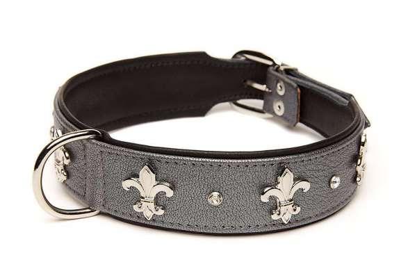 Hundehalsband Florenz - Grau