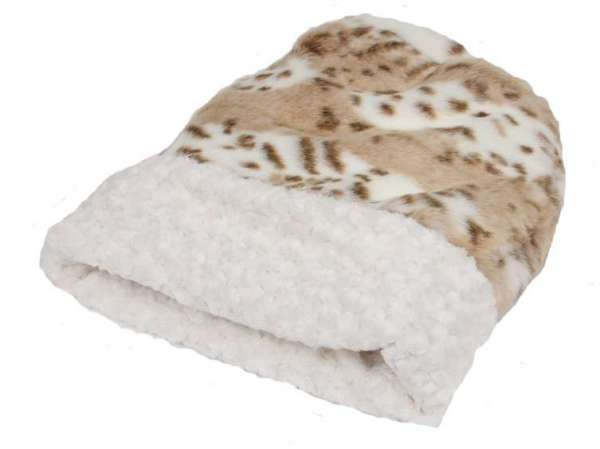 Hundedecke Cuddle Cup Bed - Snow Leopard
