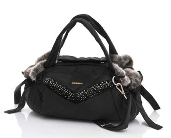 Luxus-Hundetasche DI SOGNO 3 in 1 - Black
