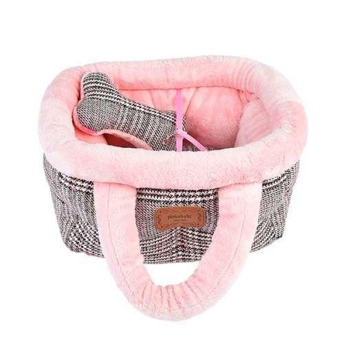 Hundetasche Basket Bed Da Vinci - Rosa