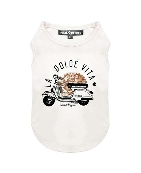 Milk & Pepper Hunde-Shirt Dolce Vita