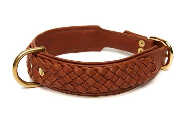 Hundehalsband Chester Deluxe - Rehbraun - Big Dogs