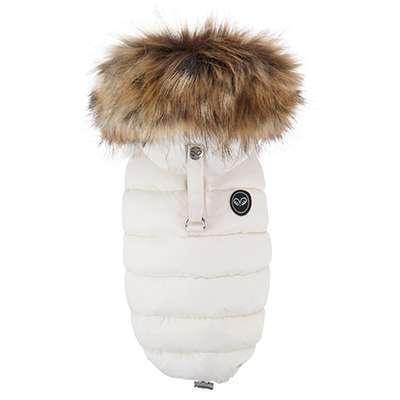 Hundemantel Winterzauber - Ivory