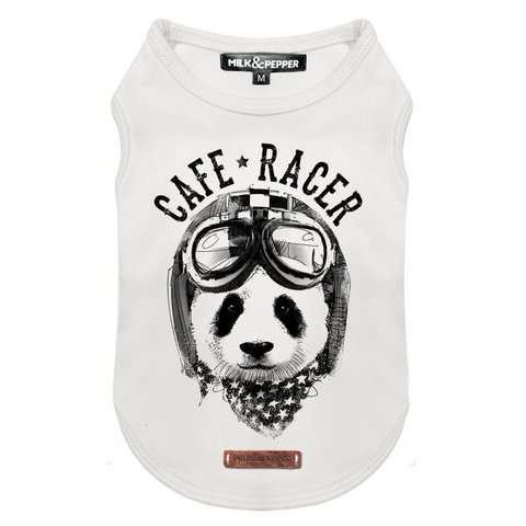 Milk & Pepper Hunde-Shirt Panda Racer