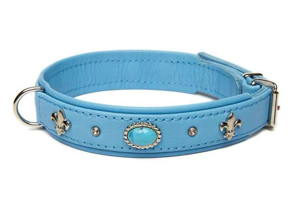 Hundehalsband Little Venice - Skyblue