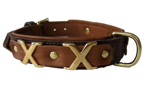 Hundehalsband Tobago Brown
