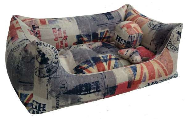 Hundebett Union Jack - Color