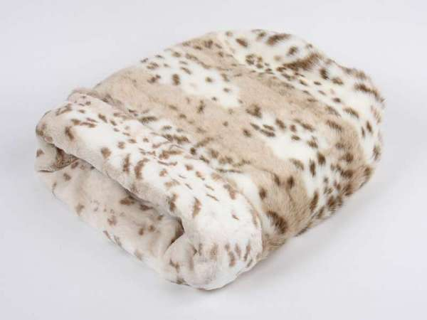 Hundedecke Cuddle Cup Bed Arctic Snow Leopard