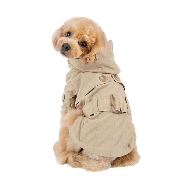 Hunde-Regenmantel Claris - Beige