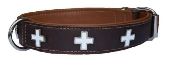Hundehalsband Highlander Brown