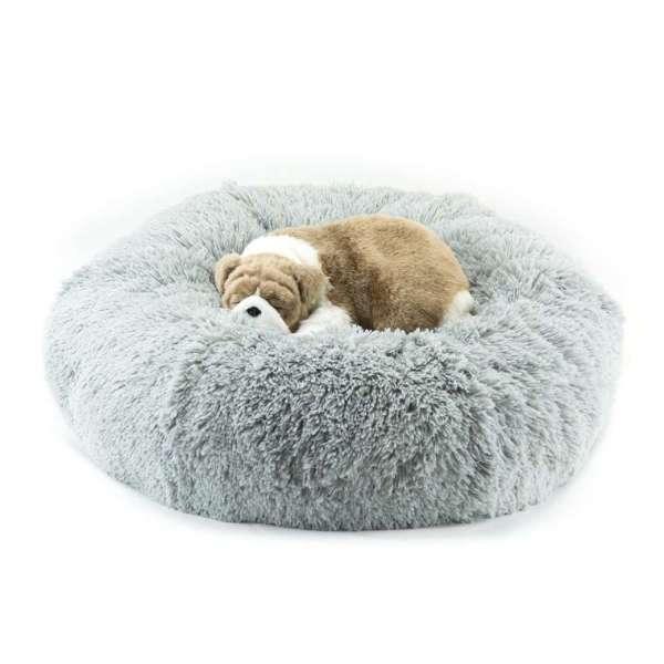 Hundebett Donat Grey Shag