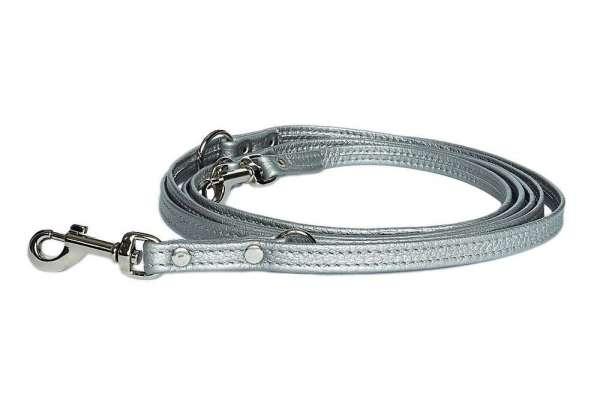 Verstellbare Hundeleine - Silver