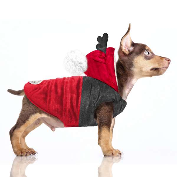 Hundemantel Hanki - Red
