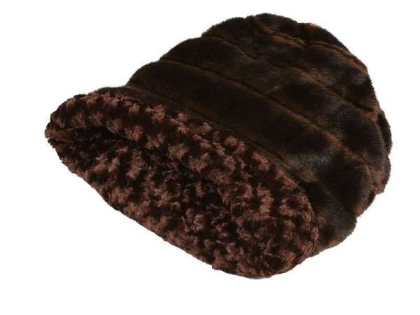Hundedecke Cuddle Cup Bed Chocolate Nerzoptik