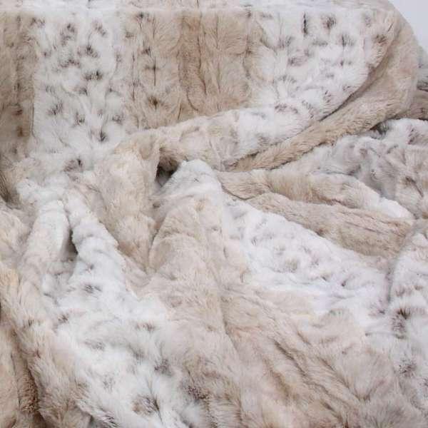 Hundedecke Super Soft Snow Leopard