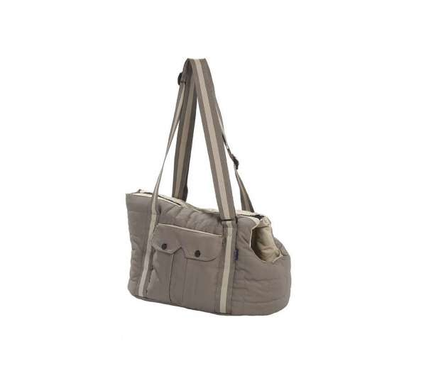 Hundetasche Sporty - Taupe