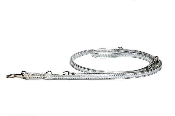 Verstellbare Führleine Silber