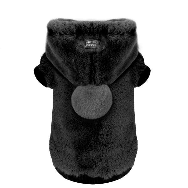 Milk & Pepper Hunde-Sweater Yelena - Black