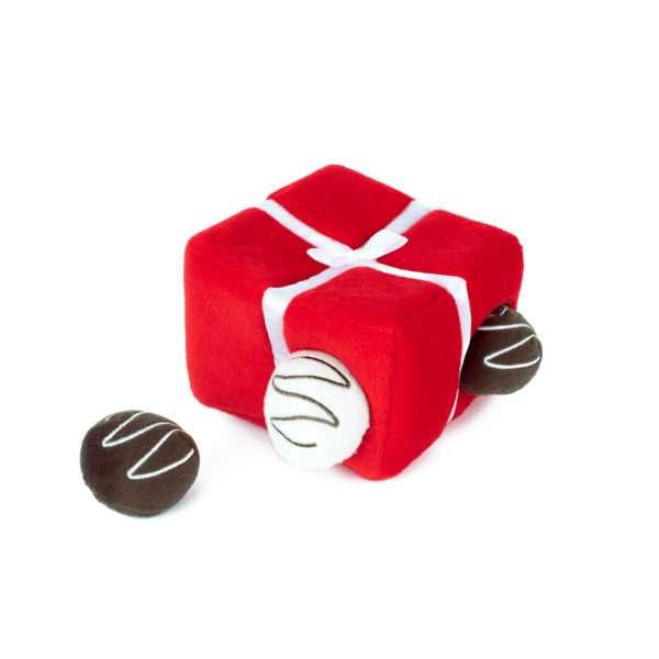 Hundespielzeug Box of Chocolates