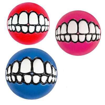 Hundespielzeug Grinz Ball