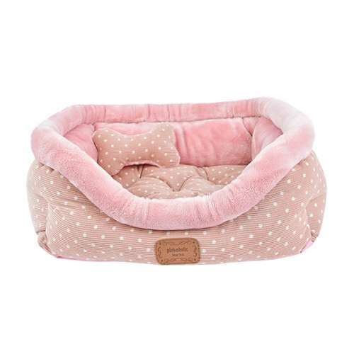 Hundebett Hamper Bed - Rosa