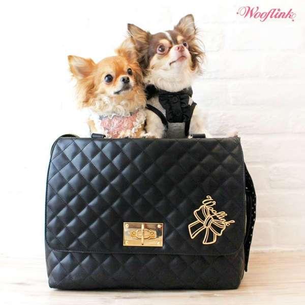 Hundetasche Nizza Bag - Black