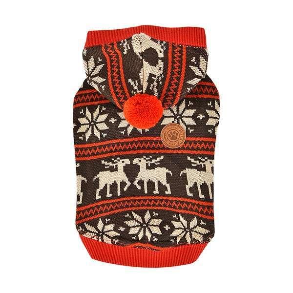 Puppia Hunde-Sweater Prancer - Brown