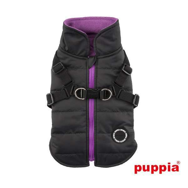 Puppia Hundemantel Mountaineer II - Black