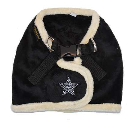 Step In Hundegeschirr Shiny Star - Black