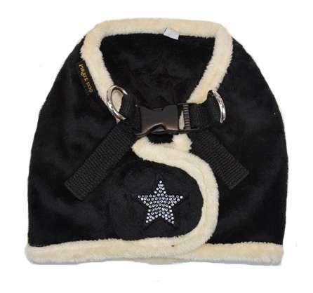 Step In Hundegeschirr Shiny Star - Black