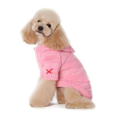 Hunde-Sweater Casual - Rosa