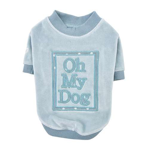 Hundepullover Oh my dog - Hellblau