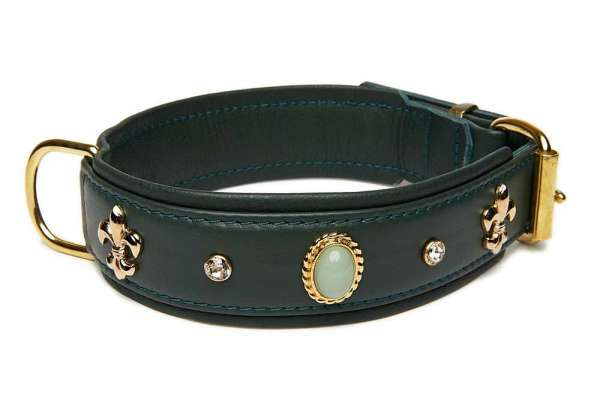 Hundehalsband Venice - Racing Green