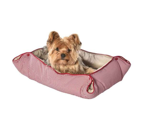 Hundedecke Frenchie - Red