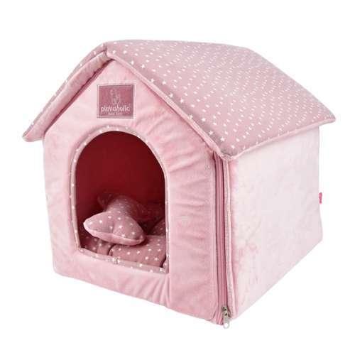 Hunde-Schlafhöhle Luna House - Rosa